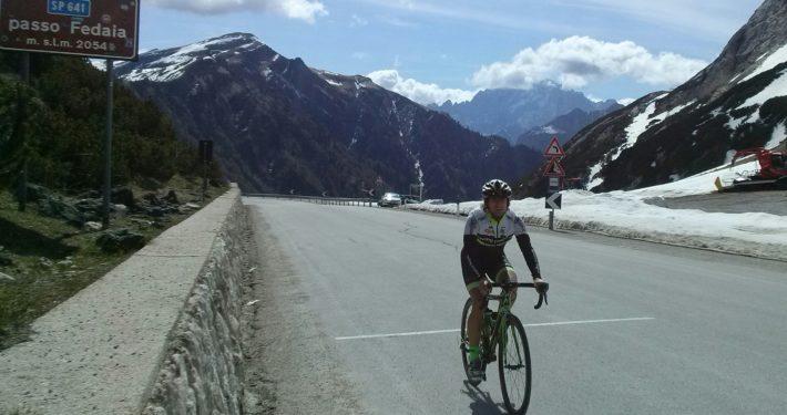 Passo Fedaia - DiscoverCycling.eu