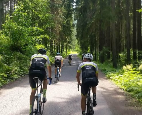 Plostin DiscoverCycling cyklistika sustredenie Tatry